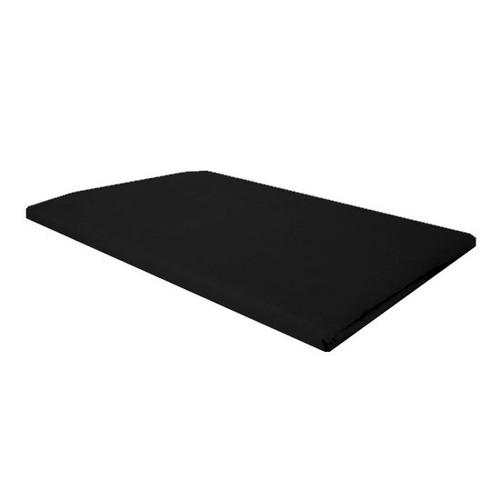 Black Plain Standard Pillowcase