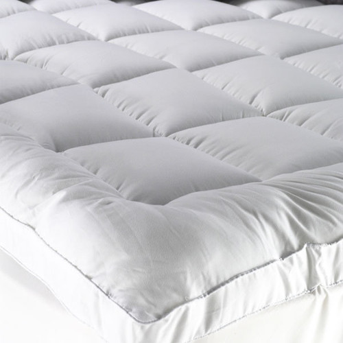 Fitted Pillowtop Mattress Topper | Queen Bed