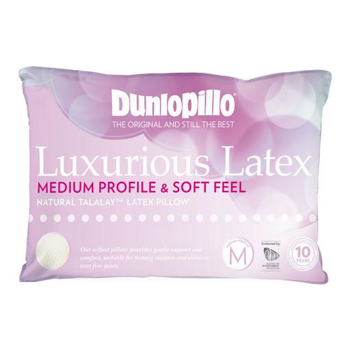 Luxurious Latex Medium Profile Soft Feel Pillow