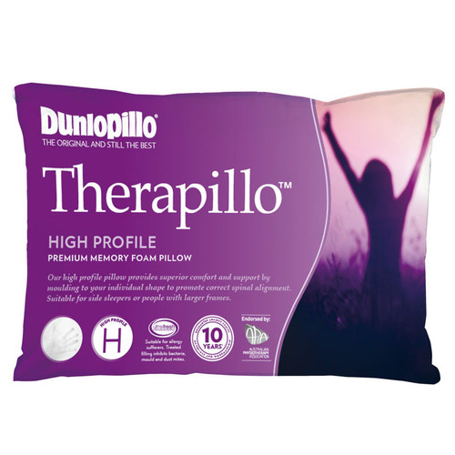 Therapillo Memory Foam High Profile Pillow