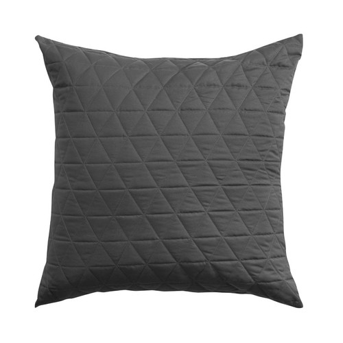 Bianca Vivid Coordinate Charcoal Square Filled Cushion | My Linen