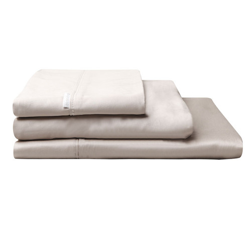 100% Egyptian Cotton Sateen Sheet Set 400TC Linen | Super King 50cm Bed