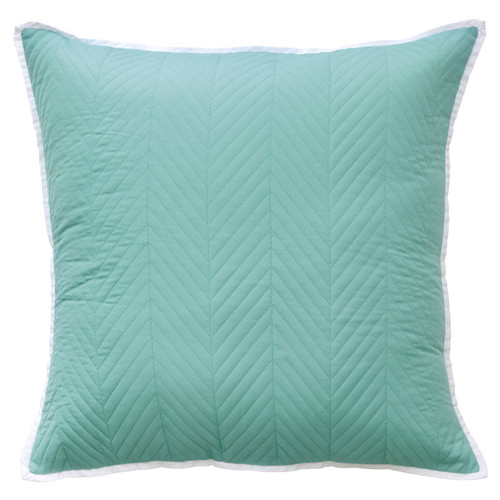Vivid Coordinates Aqua European Pillowcase