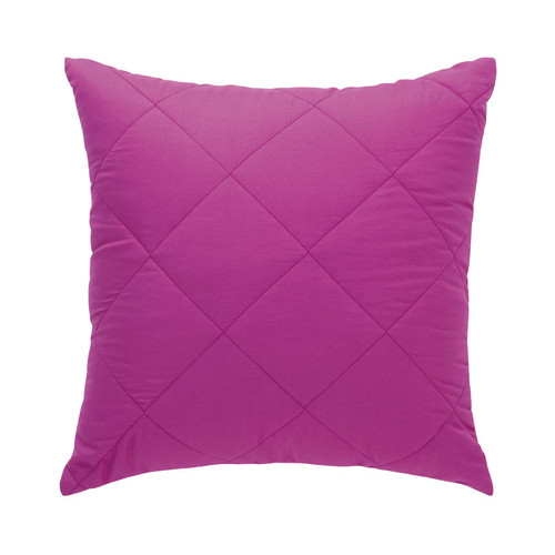 Vivid Coordinates Grape Square Filled Cushion