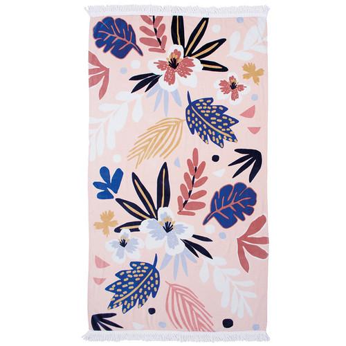 Isla Cotton Velour Beach Towel