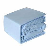 Blue Micro Flannel Sheet Set
