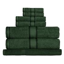 100% Cotton Forest Green 7pc Bath Towel Set