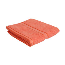 100% Cotton Terracotta / Rust Hand Towel