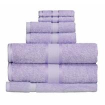 100% Cotton Lilac 7pc Bath Towel Set