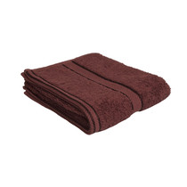 100% Cotton Chocolate Brown Hand Towel