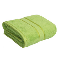 100% Cotton Bright Lime Green Bath Towel