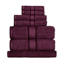 100% Cotton Shiraz 7pc Bath Sheet Set