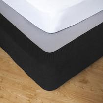 Ebony King Single Bed Stretch Bed Wrap Valance