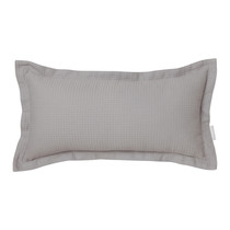 Ascot Pewter Long Filled Cushion