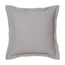 Ascot Pewter Square Filled Cushion