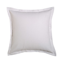 Ascot White European Pillowcase