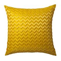 Chevron Yellow European Pillowcase