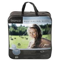 Queen Bed Australian Wool Winter Quilt