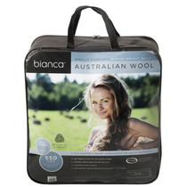 King Bed Australian Wool Winter Quilt