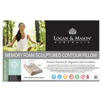 Memory Foam Sculptured Contour Pillow