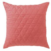 Bianca Vivid Coordinate Melon European Pillowcase | My Linen