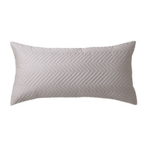 Private Collection Westcott Silver  Long Filled Cushion | My Linen