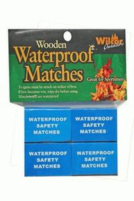 Waterproof Matches 4 boxes