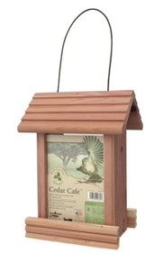 Cedar Cafe Bird Feeder