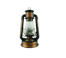 Hurricane Oil Lantern 7.5 inches Vintage Style