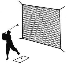 golf screen 10'x10'