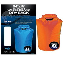 Floating waterproof dry sack bag 33L