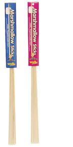 Wooden marshmallow sticks 48 pack