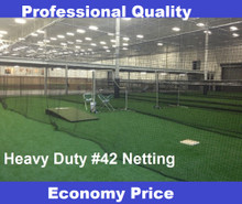 Baseball Batting Cage  54ply #42 Twine Heavy Duty Net Netting