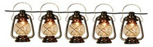 Patio String Lights Oil Lantern Style