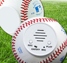 Talking recordable autograph baseball