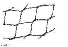 "Light Knitted Aviary Net 1"" mesh 12' x 100'"