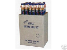 Junior Wiffle ball and bat floor display set
