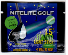 jumbo 1.5 inch lightsticks for glow golf balls