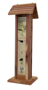 Deluxe Finch Feeder Cedar