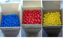 wiffle golf balls bulk packaged in blue red or yellow