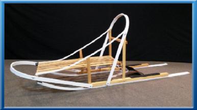 Glider Dog Sled Kit