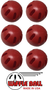 Red Wiffle Balls
