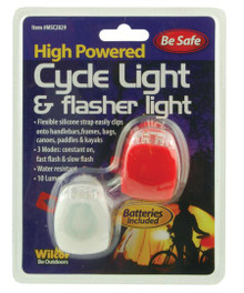 Personal Safety Lights Clip On LED White and Red