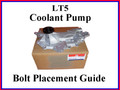 Coolant Pump Bolt Placement Guide