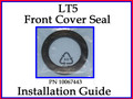 Front Cover Tool & Seal Installation Guide