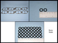 Gasket/Seal Kit, 36 pc Fuel Injector Maint, 93~95 (BUNA)