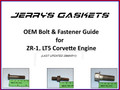 LT5 Bolt & Fastener Guide