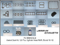 Gasket/Seal Kit, 120pc Cylinder Head R&R, 90~92 (BUNA)