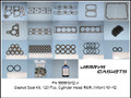 Gasket/Seal Kit, 120pc Cylinder Head R&R, 90~92 (VITON)