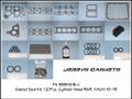 Gasket/Seal Kit, 120 pc Cylinder Head R&R, 93~95 (VITON)